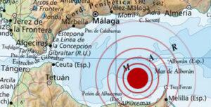 Terremoto en el mar de Alborán
