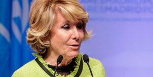 Esperanza Aguirre, expresidenta del PP de Madrid