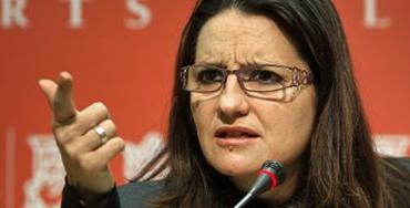 Mónica Oltra, líder de Compromís