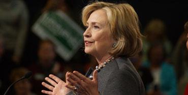 Hillary Clinton, candidata del partido Demócrata en las primarias de EEUU