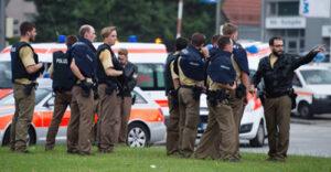 Despliegue policial durante el tiroteo de Múnich - Foto: dpa