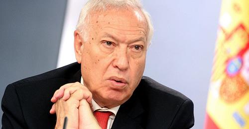 José Manuel García-Margallo, ministro de Asuntos Exteriores y Cooperación en funciones