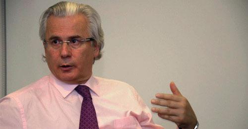 Baltasar Garzón, exmagistrado de la Audiencia Nacional
