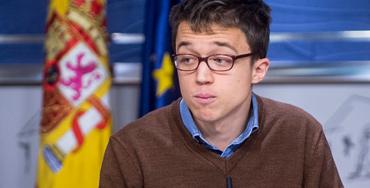 Iñigo Errejón, portavoz de Podemos en el Congreso de los Diputados