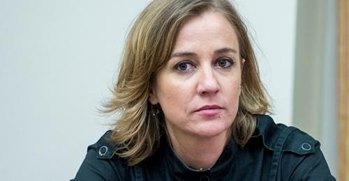 Tania Sánchez, diputada de Unidos Podemos