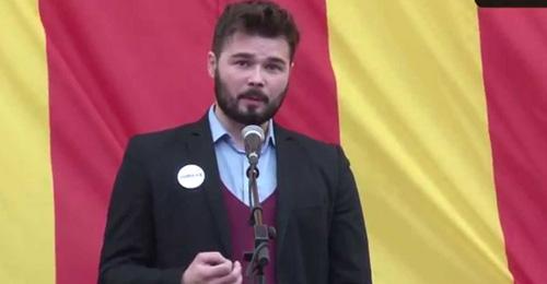 Gabriel Rufián, diputado de ERC