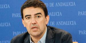 Mario Jiménez, portavoz de la gestora del PSOE