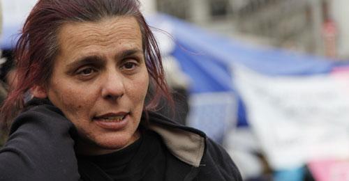Gloria Vázquez, presidenta de la Asociación Ve-la-luz - Fotos: Jaime Pozas
