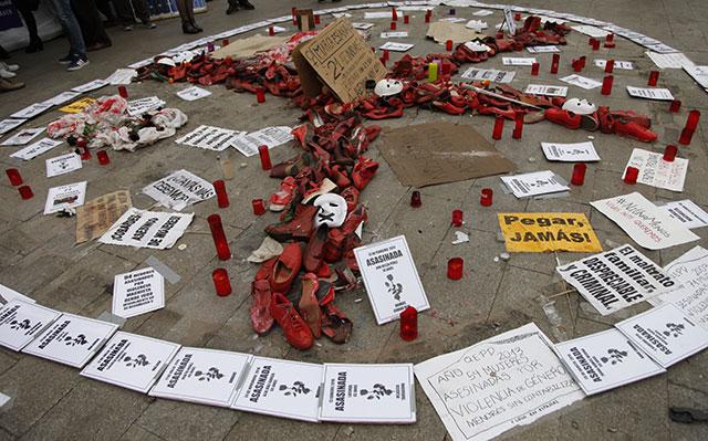 Huelga de hambre contra la violencia machista