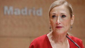 Cristina Cifuentes, presidenta de la Comunidad de Madrid