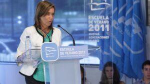 Ana Mato, exministra de Sanidad