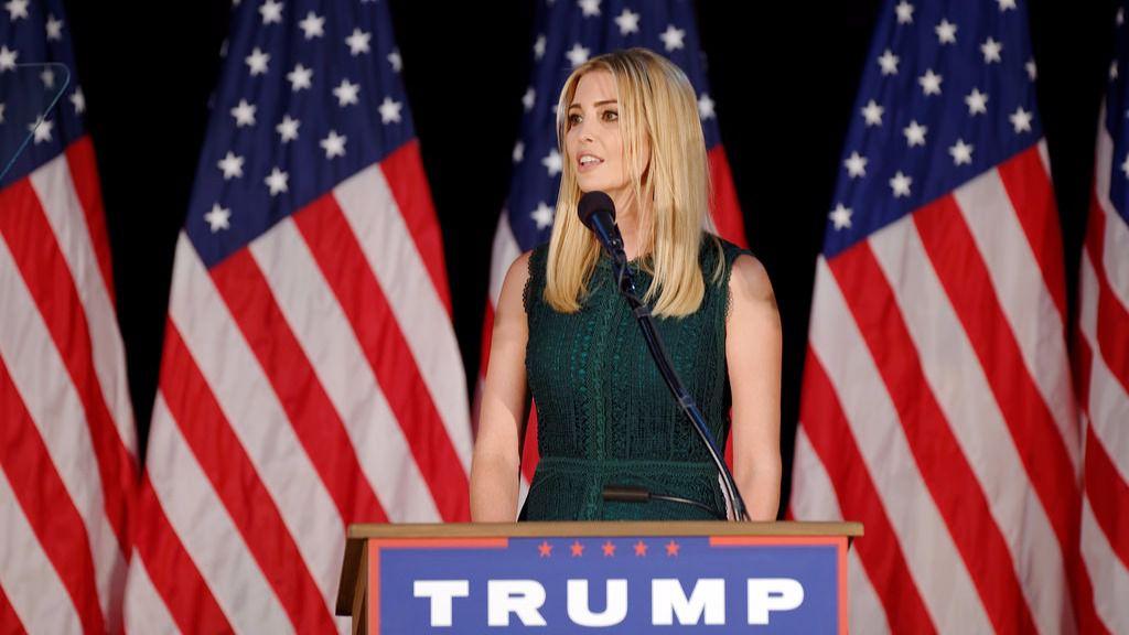 Ivanka Trump, esposa de Donald Trump