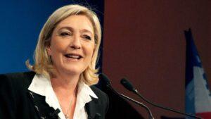 Marine Le Pen, líder de Frente Nacional