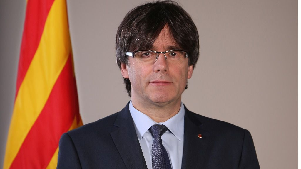 Carles Puidemont, presidente de la Generalitat de Cataluña