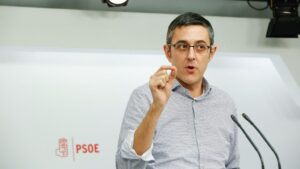 Eduardo Madina, diputado del PSOE