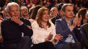 Susana diaz felipe gonzalez jose luis rodrigez zapatero