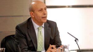 José Ignacio Wert, exministro de Educación