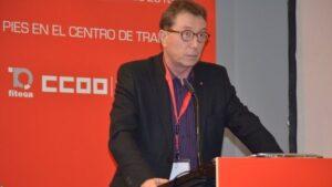 Jaime Cedrún, secretario general de CC.OO. Madrid