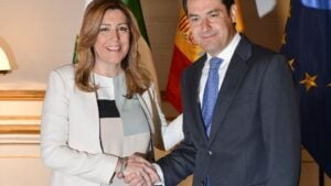 Susana Diaz Juan Manuel Moreno Bonilla