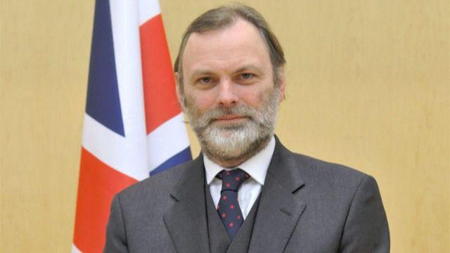 Tim Barrow, embajador de Reino Unido para la UE