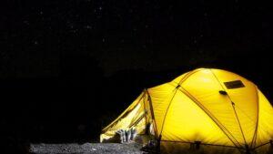 Camping acampada