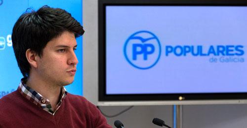 Diego Gago, próximo presidente de las Nuevas Generaciones del PP