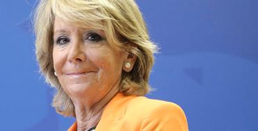 Esperanza Aguirre, portavoz del PP en el Congreso de los Diputados