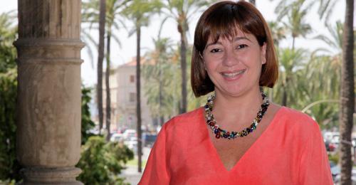 Francina Armengol, presidenta del Govern de las Islas Baleares