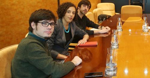 Lander Martínez, secretario de Organización de Podemos Euskadi