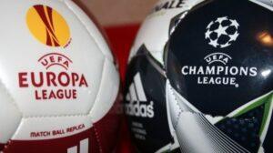 Europa League y Champions League