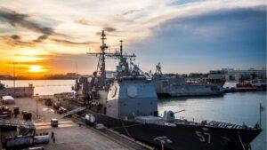 Barco de guerra de la Marina Americana