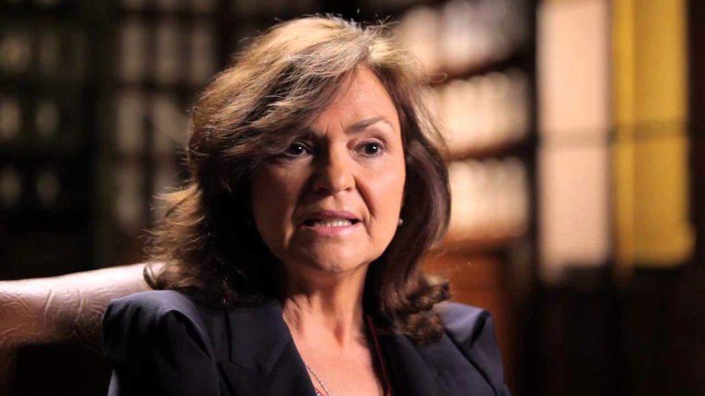 Carmen Calvo, exministra de Cultura