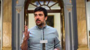 Ramón Espinar, Secretario General de Podemos en la Comunidad de Madrid y Portavoz en el Senado