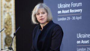 Theresa May, primera ministra del Reino Unido