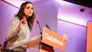 Inés Arrimadas, líder de Ciudadanos en Cataluña