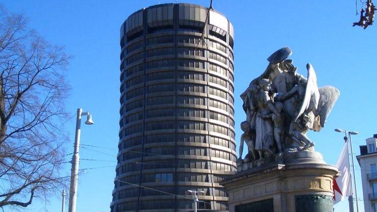 Sede del Banco de Pagos Internacionales en Basilea