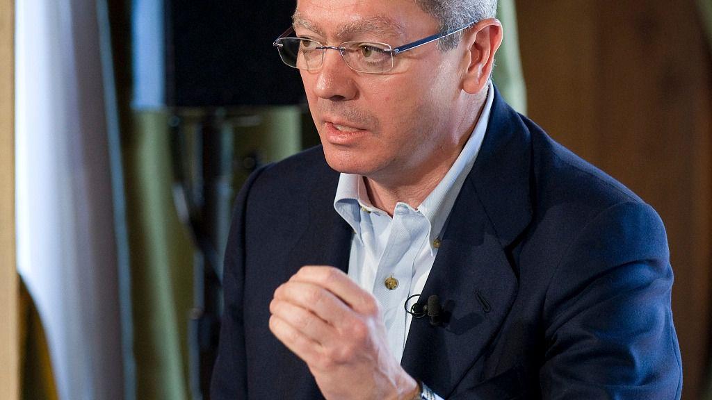 Alberto Ruiz Gallardón, exministro de Justicia