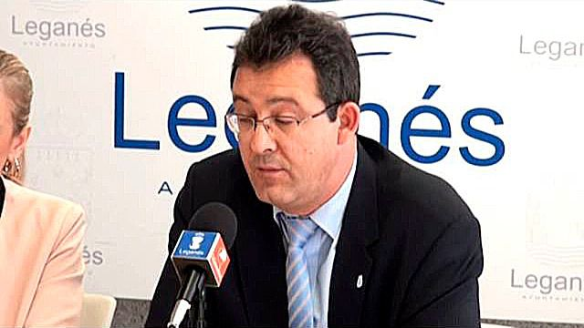 Jesús Gómez, ex alcalde de Leganés