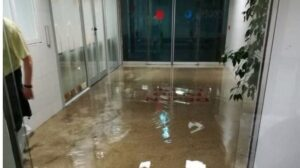 La Paz inundada