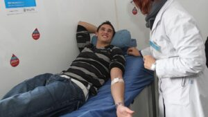 Extracción de sangre