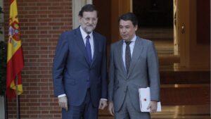Mariano Rajoy junto a Ignacio González