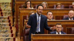 Antonio Hernando, portavoz del PSOE en el Congreso de los Diputados