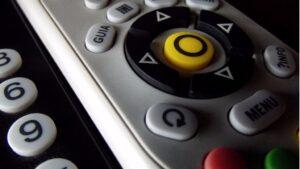 Mando a distancia televisión tv