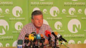 Pedro Quevedo, diputado de Nueva Canarias