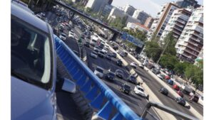 trafico madrid coches