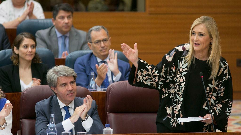 Cristina Cifuetes, presidenta de la Comunidad de Madrid