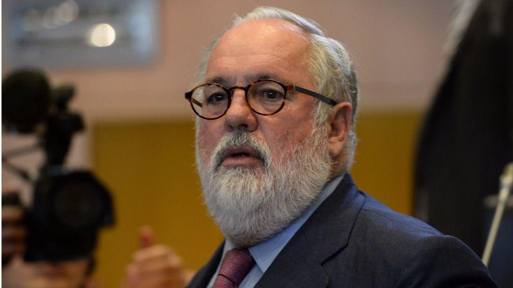 Miguel Arias Cañete, comisario europeo de Acción por el Clima y Energía