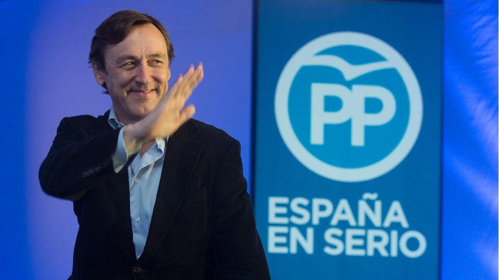 Rafael Hernando, portavoz del PP en el Congreso de los Diputados