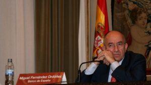 Miguel Angel Fernández Ordóñez, exgobernador del Banco de España
