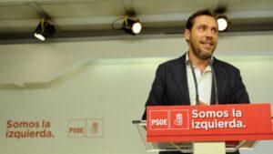 Óscar Puente, portavoz de la ejecutiva federal del PSOE